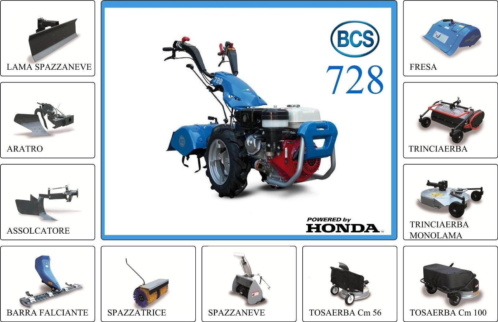 Motokultivator bcs 728 powersafe for Motocoltivatore bcs 720